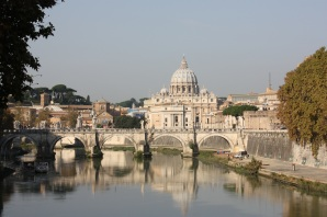 RAN OVER…I, MEAN, THE ETERNAL CITY